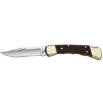 Buck Folding Hunter Finger Groove Knife